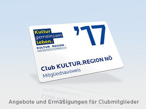 Clubkarte des Club Kultur.Region NÖ